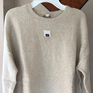 GAP Sweaters - Ladies GAP soft WOOL beige sweater size large NWT